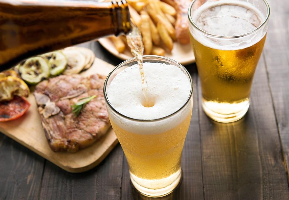 блюда с добавлением пива